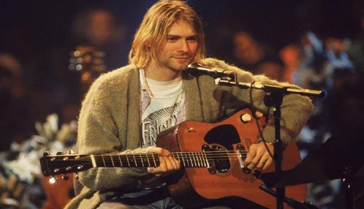 weird news,weird guitar,worlds most expensive guitar,guitar of kurt cobain ,अनोखी खबर, अनोखा गिटार, दुनिया का सबसे महंगा गिटार, कर्ट कोबेन का गिटार