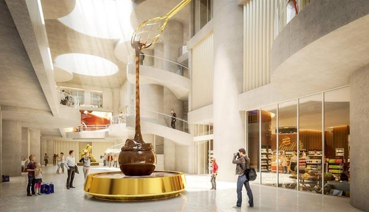 weird news,weird place,weird museum,chocolate museum,lindt home of chocolate ,अनोखी खबर, अनोखी जगह, अनोखा म्यूजियम, चॉकलेट म्यूजियम, लिंट होम ऑफ चॉकलेट
