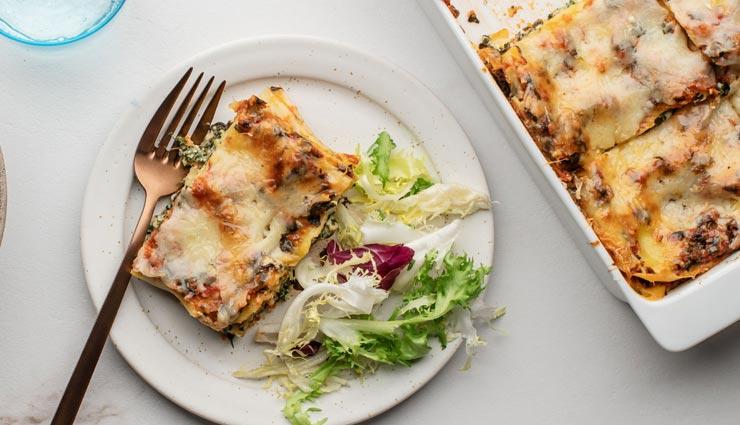 इटालियन डिश लसानिया के साथ बनाए वीकेंड को स्पेशल #Recipe