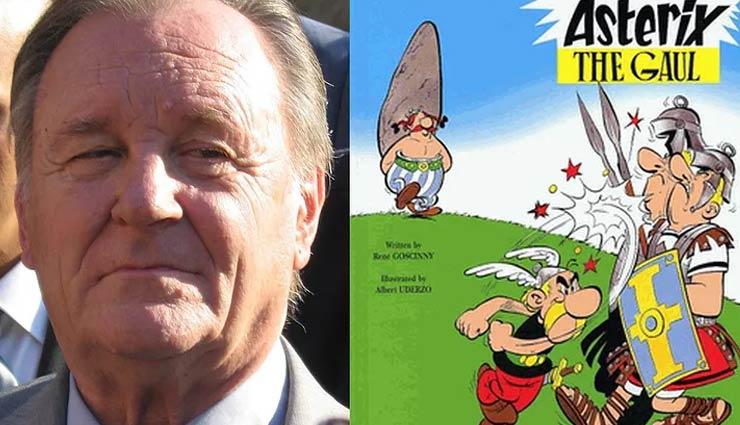 Legendary Asterix illustrator Albert Uderzo passes away