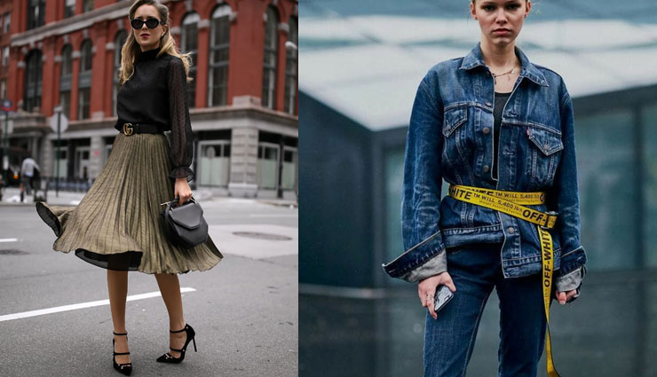 4 Ways To Style Your Long Belt