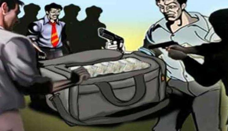 दौसा : ट्रक के शीशे पर पत्थर मार स्कॉर्पियो सवार बदमाशों ने की 20 लाख की लूट