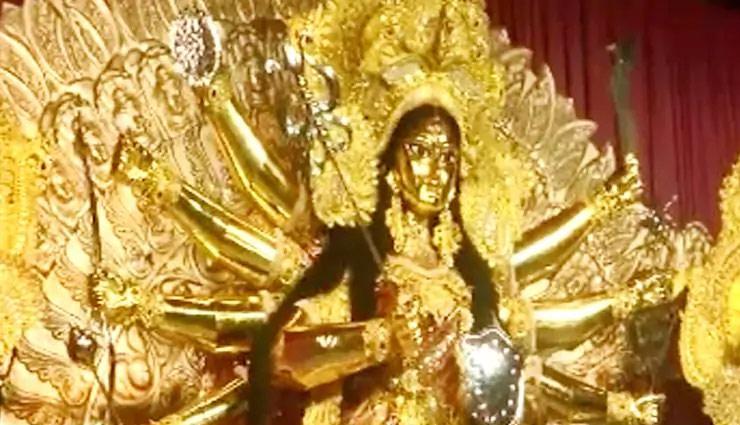 navratri 2019,maa durga idol,navratri maa durga puja,navratri puja,navratri maa durga puja,eco friendly maa durga idol,weird news in hindi ,नवरात्रि