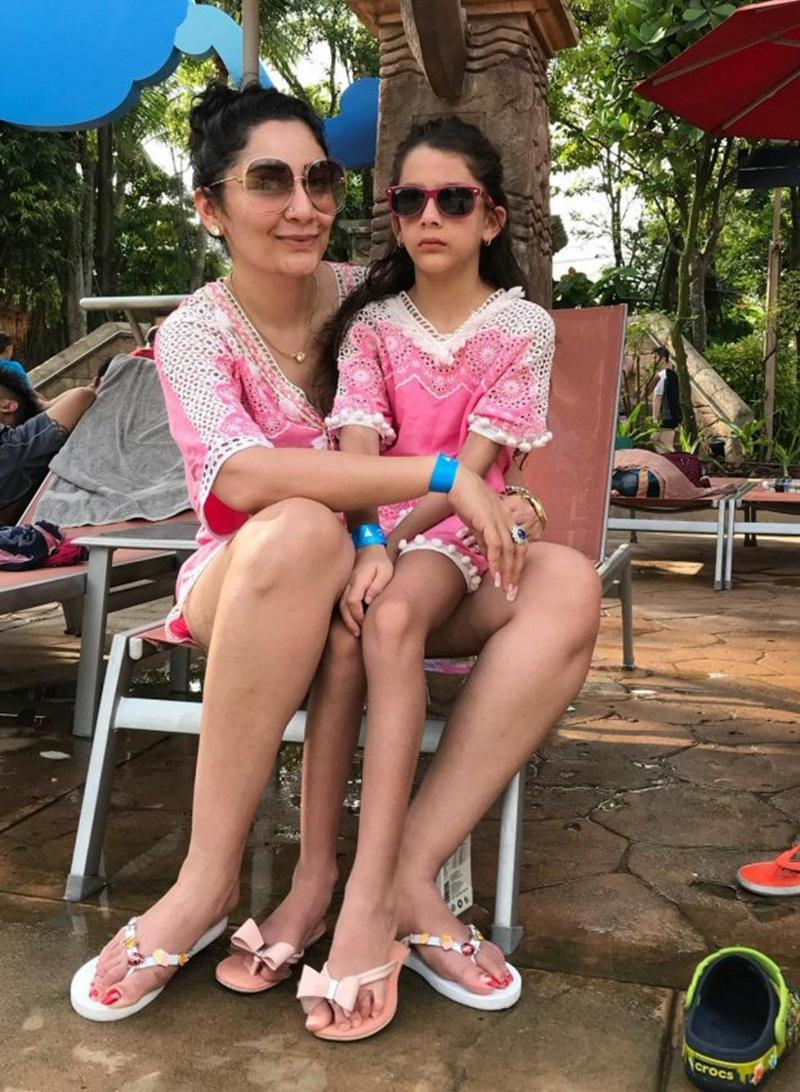 maanayata dutt is chilling,iqra and shahraan,maanayata dutt,entertainment news