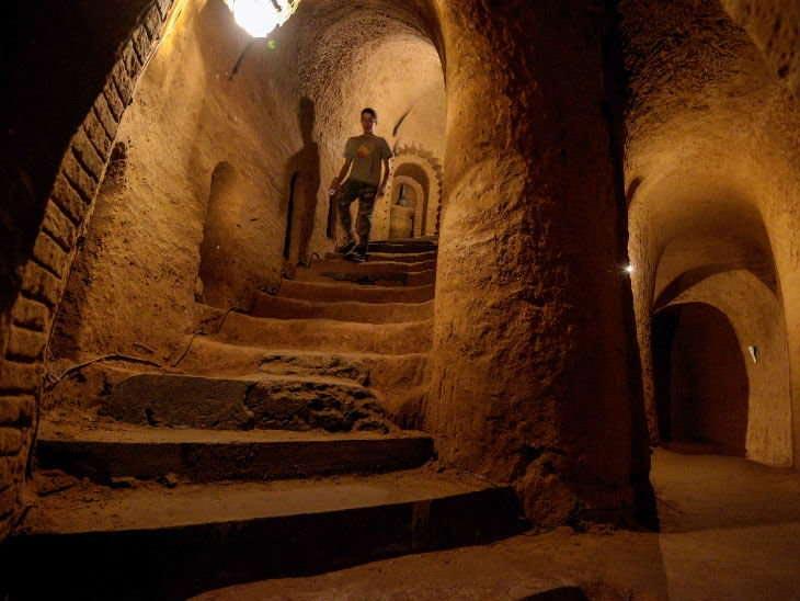armenia,basement,weird story ,अजब गजब खबरे