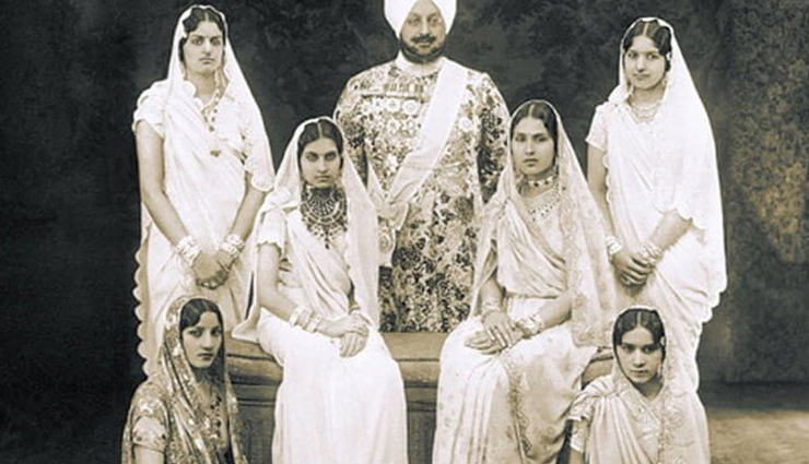 facts about the maharaja bhupinder singh,maharaja bhupinder singh man with 365 wives,maharaja bhupinder singh,king of patiala
