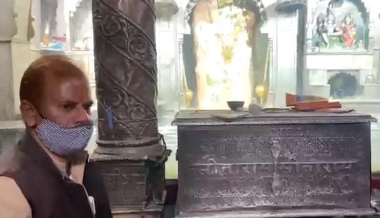 8 महीने बाद खुला मेहंदीपुर बालाजी मंदिर, कोरोना महामारी के चलते भोग-प्रसाद नहीं ले जा सकेंगे श्रद्धालु