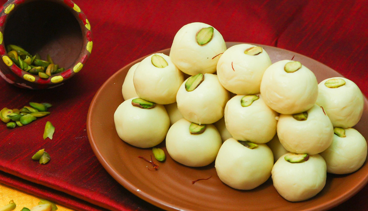 Navratri Recipe- Impress Maa Durga With Coconut Malai Peda
