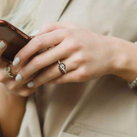 mangalsutra rings,cocktail rings,midi rings,co-ordinated rings,rings,fashion tips for diwali,diwali 2018