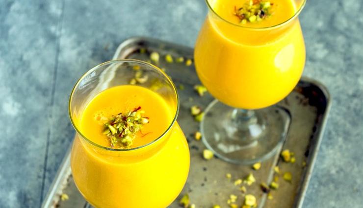 summer recipe,creamy mango lassi,lassi recipe,mango recipe