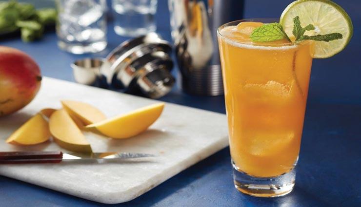 गर्मियों में आपको तरोताजा रखेंगी 'मैंगो मॉकटेल' ड्रिंक #Recipe