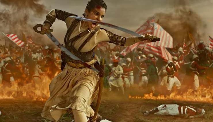 वर्ष की 2री 100 करोड़ी फिल्म बनी 'मणिकर्णिका : झांसी की रानी'