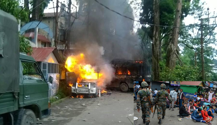 darjeeling,surrounded by tea gardens darjeeling is now becoming the target of maoists,maoists,hill stations of india