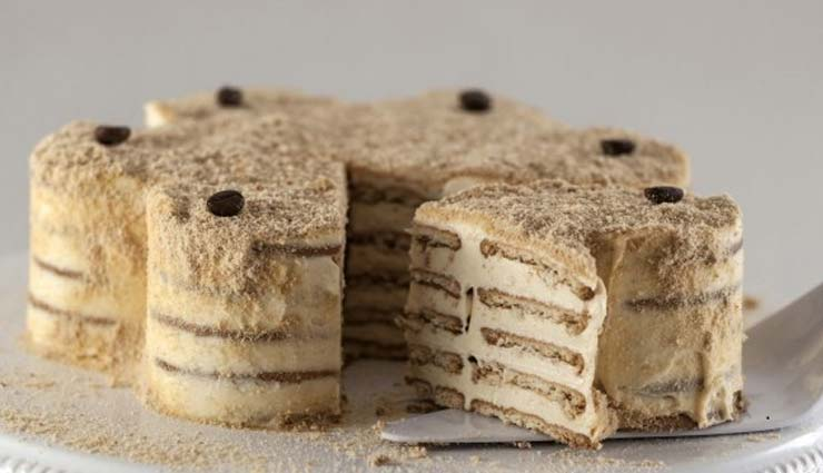 Recipe- Mouthwatering Marie Biscuit Cake