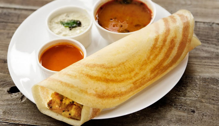 Recipe- Make Your Valentine Healthy With Masala Dosa