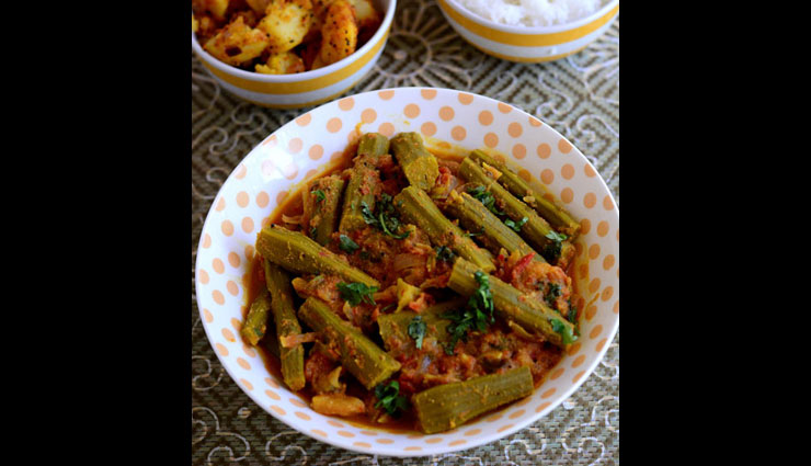 Recipe- Enjoy The Winters With Masala Drumstick