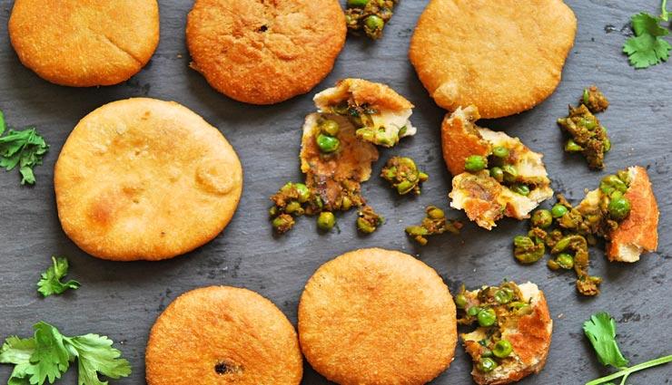टी-टाइम स्नैकस का बेहतरीन ऑप्शन हैं मटर कचौरी, लें इसके स्वाद का जायका #Recipe