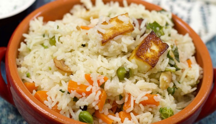 Recipe- Delicious and Easy To Make Matar Paneer Pulao