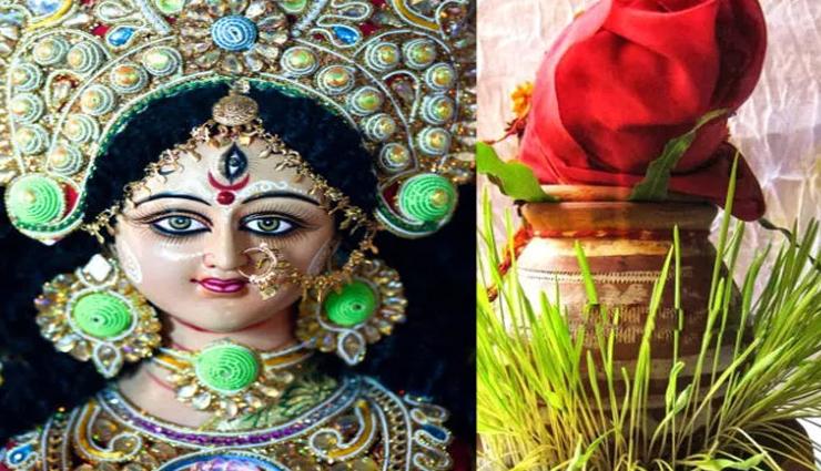 Navratri 2021 : जौ के माध्यम से भविष्य का संकेत देती है देवी मां, जानें क्या कहता हैं इनका रंग