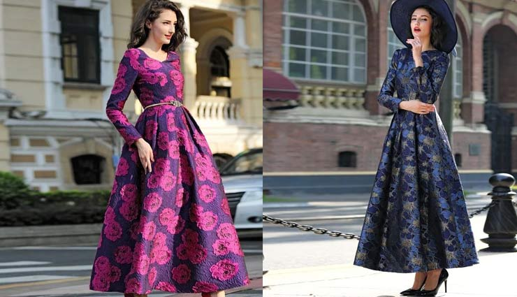 maxi dress fashion,winter fashion,fashion tips,fashion trends,growing trend of maxi dress,floral print maxi dress,maxi dress , मैक्सी ड्रेस का फैशन, फैशन टिप्स, फैशन ट्रेंड्स