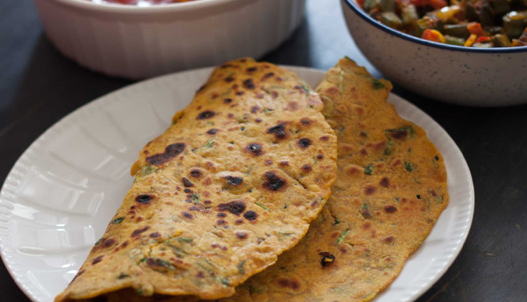 Recipe- Make Your Mornings Healthy With Methi Missi Roti