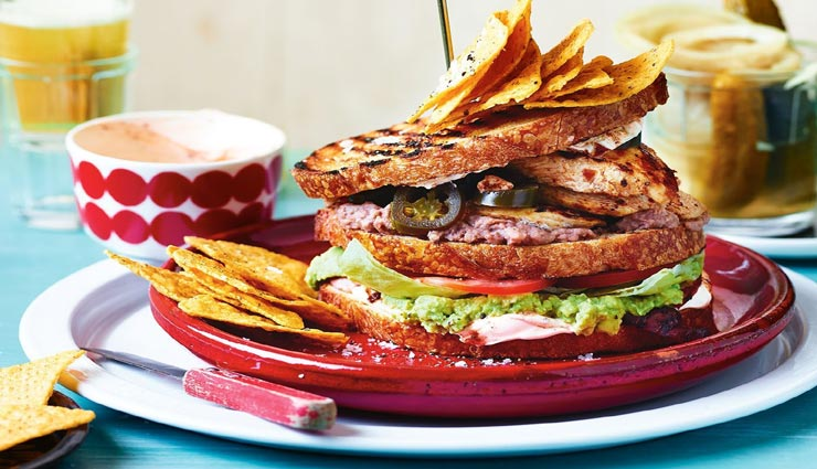 बच्चों के लिए बनाए स्वाद और सेहत से सराबोर मैक्सिकन सैंडविच #Recipe