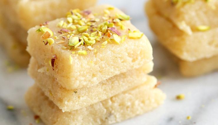 milk barfi,barfi recipe,milk recipe,sweets recipe,dessert recipe