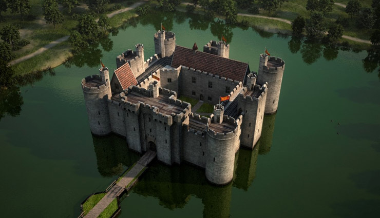 5 Most Beautiful Moats in The World