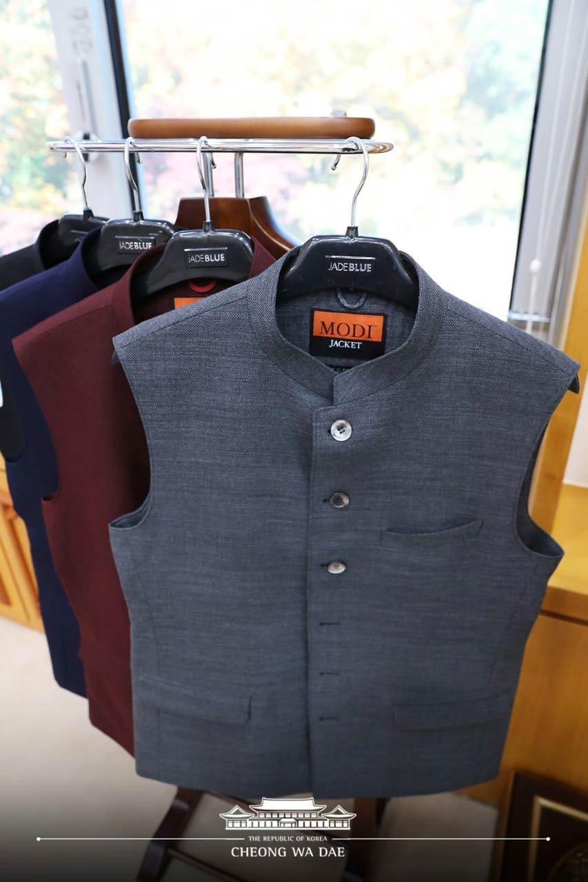 fashion,lifestyle,narendra modi,pm narendra modi,south korea ,प्रधानमंत्री नरेंद्र मोदी,दक्षिण कोरिया,राष्ट्रपति मून जे-इन