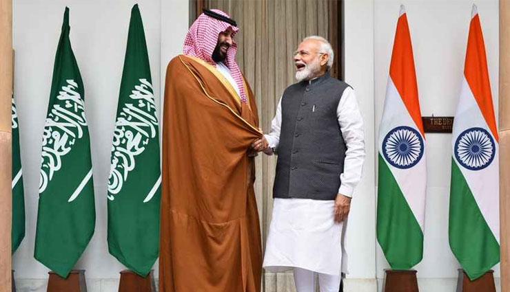PM मोदी के साथ साझा बयान में बोले सऊदी अरब के प्रिंस क्राउन - आतंक के खिलाफ हर कदम पर सहयोग करेंगे