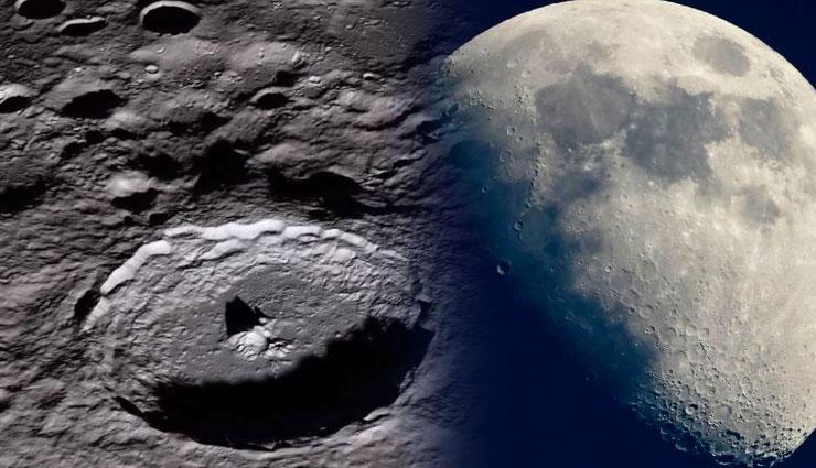 अंदरूनी सतह ठंडी होने से सिकुड़ रहा है चंद्रमा, 50 मीटर तक सिकुड़ा