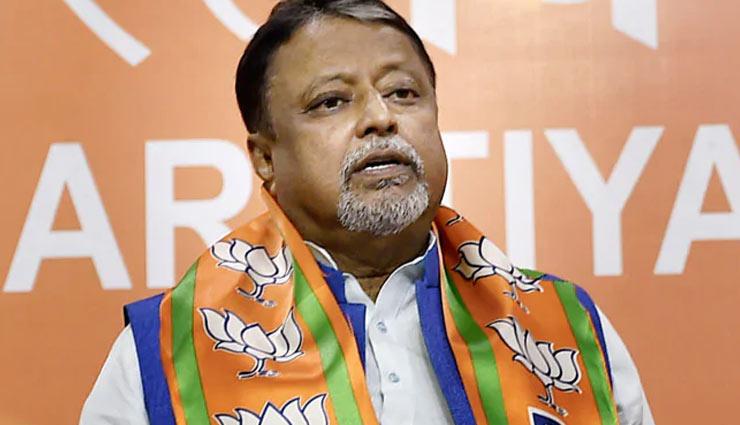 मुकुल रॉय का दावा - पश्चिम बंगाल में 107 विधायक भाजपा में होंगे शामिल