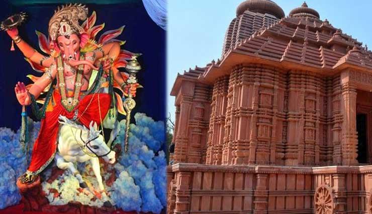 Ganesh Chaturthi 2018 : 'मुंबईचा राजा' में इस साल तैयार की गई, मध्य-प्रदेश स्थित सूर्य मंदिर की प्रतिकृति