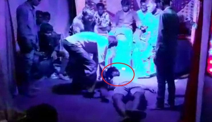 गणेश विसर्जन के बाद 'नागिन डांस' करते हुए युवक की हुई मौत, वीडियो वायरल