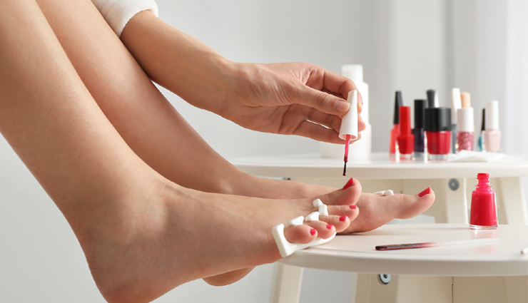 foot pedicure at home,step by step guide to do foot pedicure at home,foot care tips,pedicure tips,food,beautiful foot,beauty,beauty tips