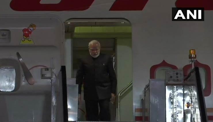 भारत वापस लौटे पीएम मोदी, 10 बजे जेटली के घर जाएंगे
