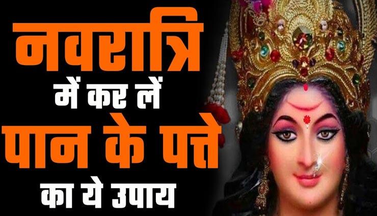 नवरात्रि 2021 : देवी की असीम कृपा दिलाएंगे पान पत्ते के ये उपाय, घर में होगा सुख-समृद्धि का वास