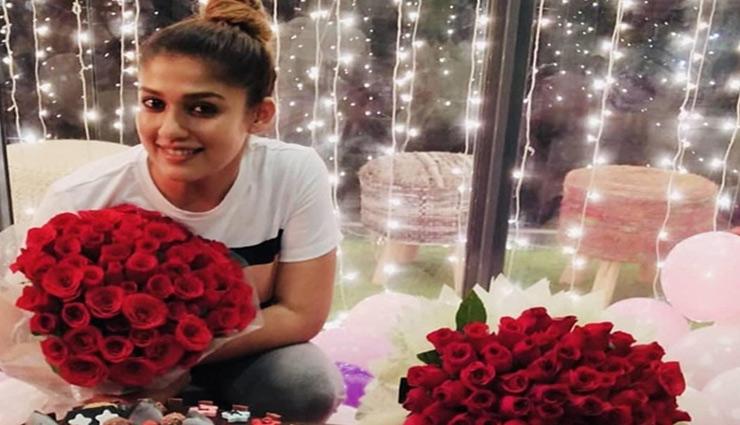 PICS- Nayanthara gets romantic birthday surprise from boyfriend Vignesh Sivan