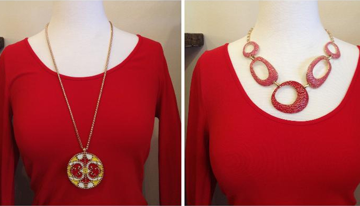 fashion tips,perfect guide to choose necklace for different necklines,necklaces,necklines,choosing necklaces