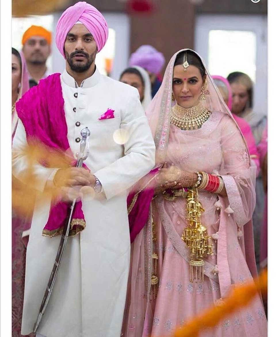 bollywood,neha dhupia,angad bedi,marriage ,बॉलीवुड,नेहा धूपिया,अंगद बेदी,शादी