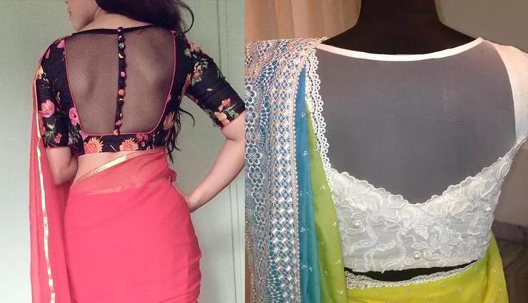 5 Trending Net Blouse Designs for Women