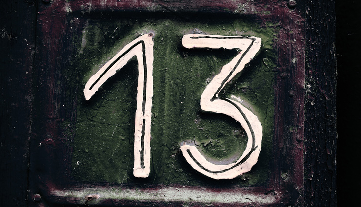 5 Superstitions Believed Around The World For Number 13