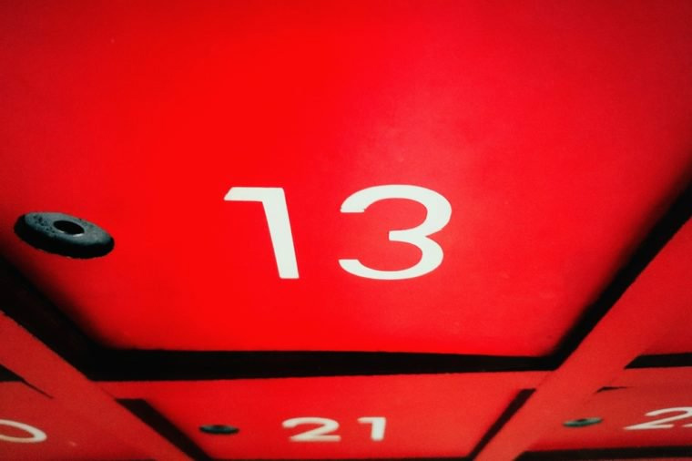 superstitions,superstitions for number 13