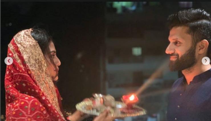 nusrat jahan,nikhil jain,first karva chauth,karva chauth 2019,nusrat jahan first karwa chauth,karwa chauth 2019,entertainment ,नुसरत जहां
