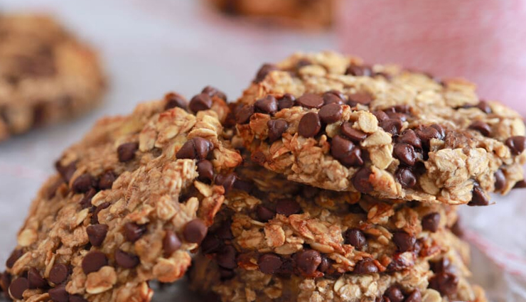 oats cookies,oats and jaggery cookies,tea time snacks,easy recipes,hunger struck,food