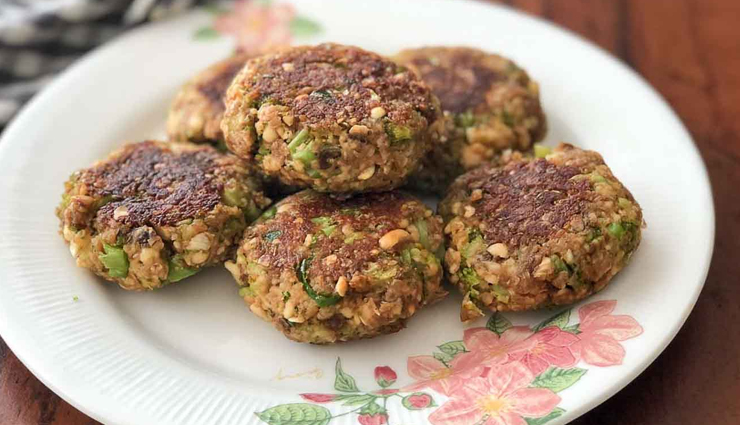 crispy sweet potato oats tikki,tikki recipe,snacks recipe,oats recipe