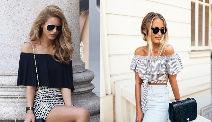 tips to carry off shoulder outfits,off shoulder dress,off shoulder tops,fashion tips,fashion trends