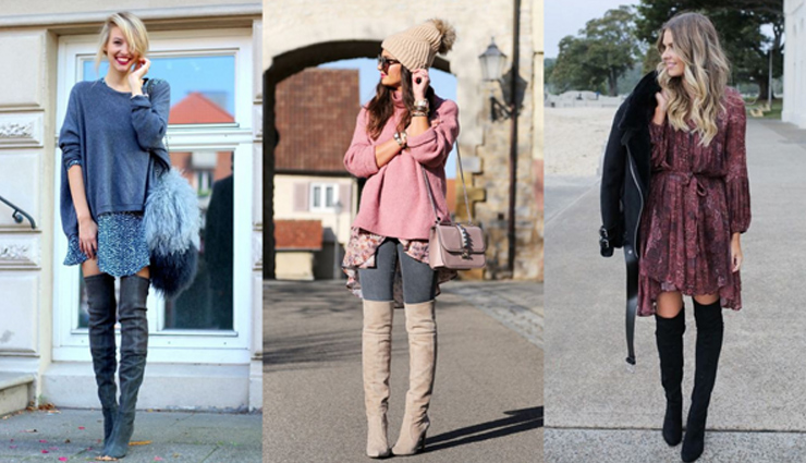 5 Gorgeous Ways To Style Your Over The Knee Boots