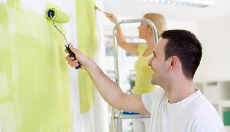 household tips,paint smell,remove paint smell ,पेंट की बदबू, बदबू से छुटकारा, साफ़-सफाई,