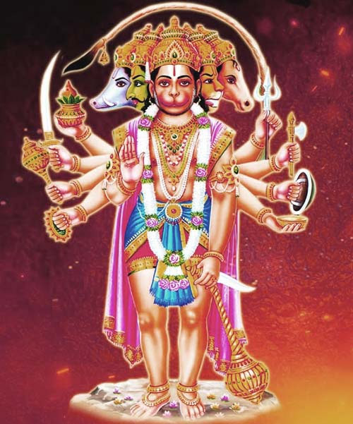 panchmukhi hanuman,facts about panchmukhi hanuman ji